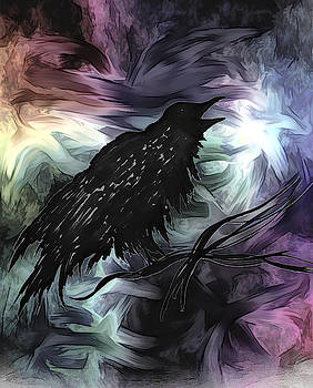 Nevermore by Abstract Angel Artist Stephen K