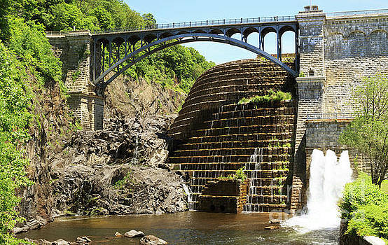 New Croton Dam at Croton on Hudson New York by Louise Heusinkveld