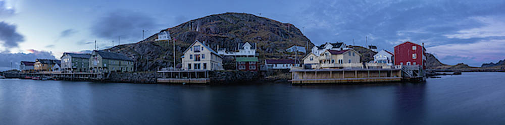 Norwegian Seaside Town Nyksund by Kai Mueller