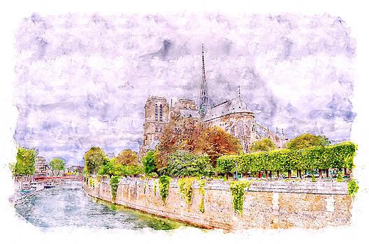 Notre-Dame de Paris by Darin Williams