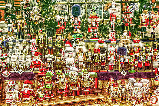 Sandy Moulder - Nutcrackers at the Christmas Shop