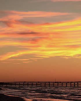 Oak Island Sunrise by Nick Noble