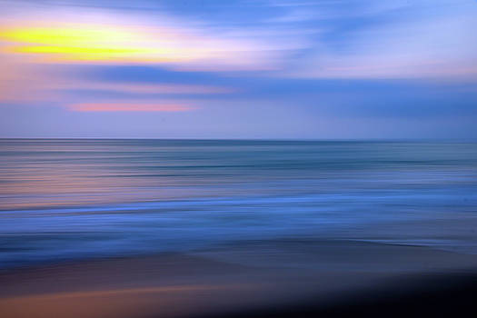 Ocean Art Abstract Sunset by R Scott Duncan