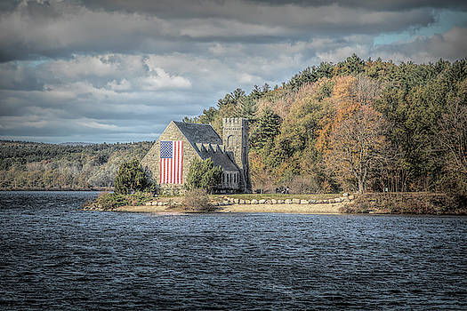 Old Stone Church Boylston MA by Jeff Folger