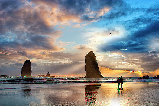 Oregon Coastline by David Chasey