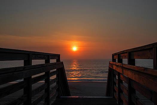 Outer Banks Sunrise 27 by David Stasiak