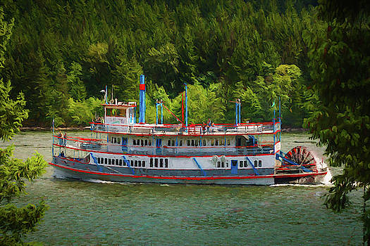 Mike Penney - Paddle Wheel Boat
