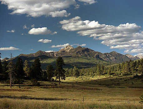 Pagosa Peak in Pagosa Springs, CO by Mark Langford