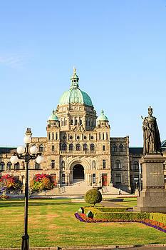 Parliament Buildings, Inner Harbor by Stuart Westmorland