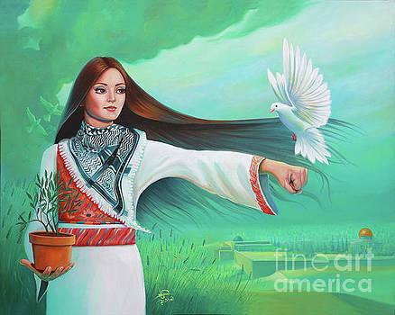 Peace and Power by Imad Abu shtayyah