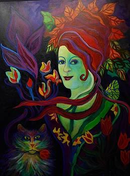 Picking Flowers by Carolyn LeGrand