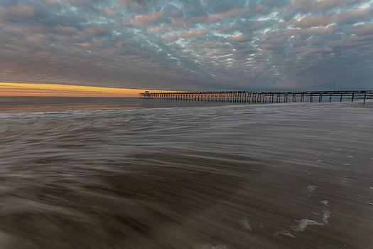 Pier Sunrise by Nick Noble