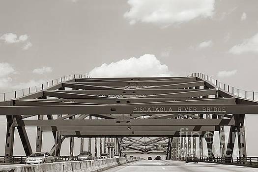Piscataqua river bridge by Claudia M Photography