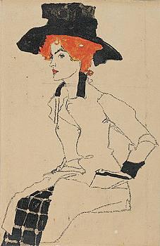 Egon Schiele - Portrait of a Woman 2