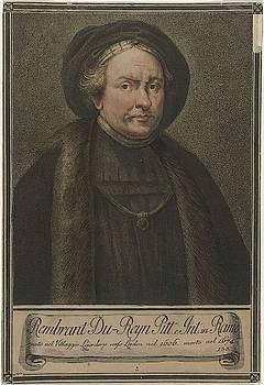 Portrait of artist Rembrandt Harmensz by MotionAge Designs