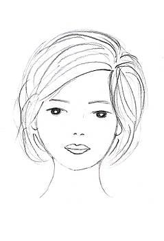 Portrait sketch by Steve Clarke