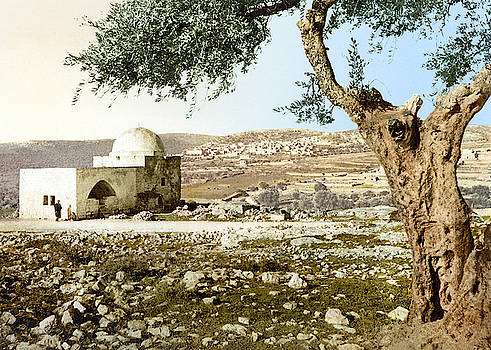 Rachel Tomb in Bethlehem by Munir Alawi