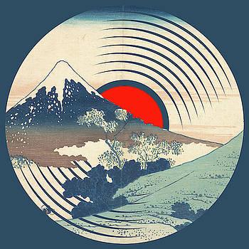 Record Album Vinyl LP Asian Japanese Mountain Snow by Tony Rubino