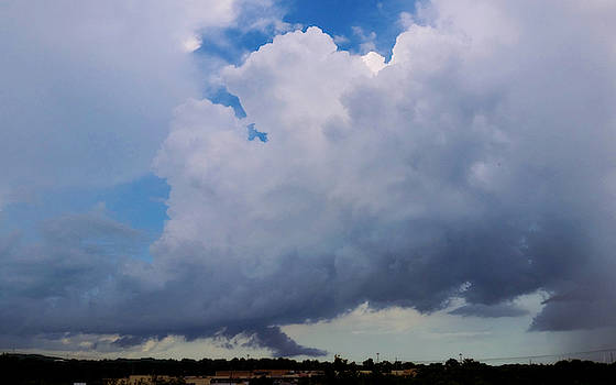 Rotating Thunderstorm  by Ally White