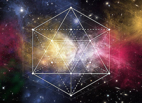 Sacred Geometry Form by Nathalie DAOUT