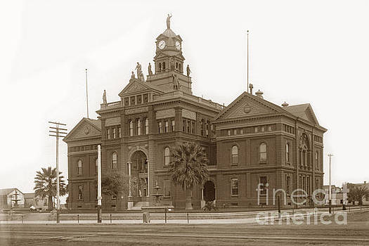 California Views Archives Mr Pat Hathaway Archives - San Diego County Courthouse was built in 1889 on the block bound