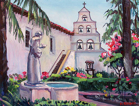 San Diego Mission Garden by Robert Gerdes