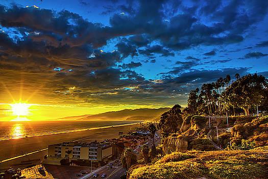 Santa Monica Bay Sunset - 10.1.18 # 1 by Gene Parks
