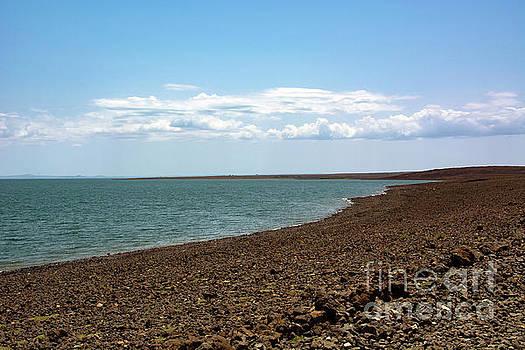 Serene Lake Turkana by Morris Keyonzo