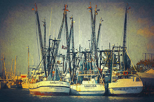 Shrimp Boats by Robert FERD Frank