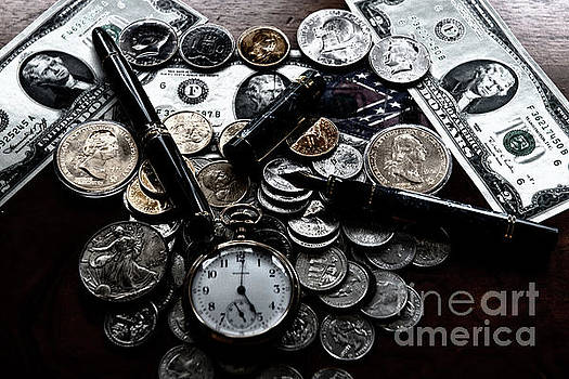 Silver Dollar by Dale Powell