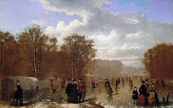Johan Mengels Culverhouse - Skating on the Wissahickon