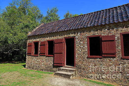 Jill Lang - Slave Quarters at Boone Hall Plantation in South Carolina