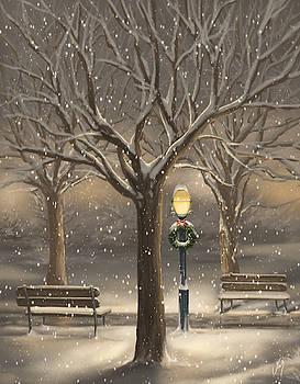 Snowfall by Veronica Minozzi