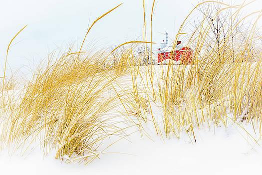 Snowy LIghthouse by John Wilkinson
