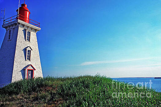 Souris Lightstation Prince Edward Island by Thomas R Fletcher