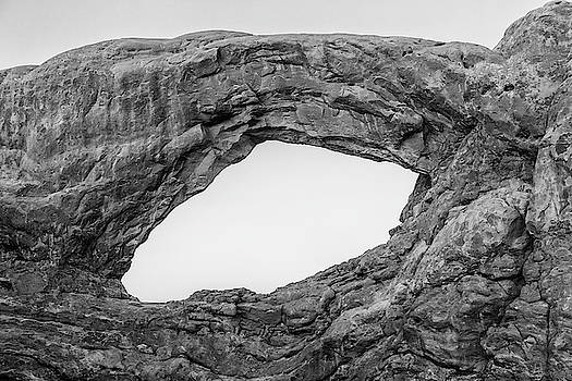 South Window Arch In Arches National Park by Stephanie McDowell