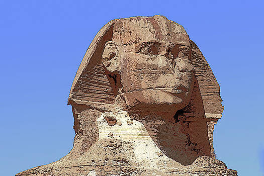 Sphinx in Egypt by Carl Purcell