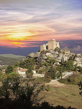 Square towers of the citadel by Steve Estvanik