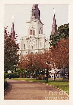 St. Louis Cathedral 2 by Bruce VanLoon