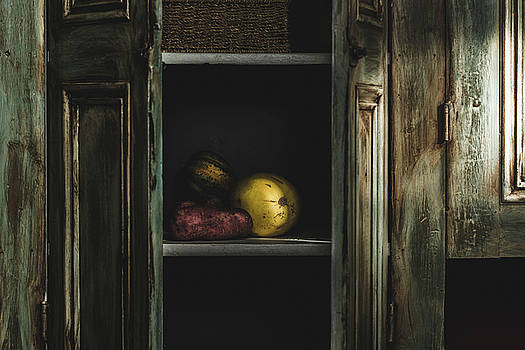 Still Life with Pantry and Butternut Squash by Bruce Davis
