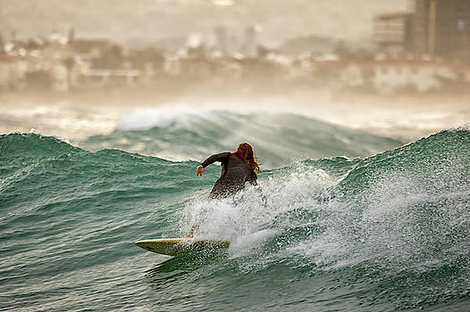 Surfer by Stelios Kleanthous