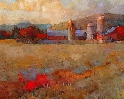 Taconic Barnscape by Don Berg