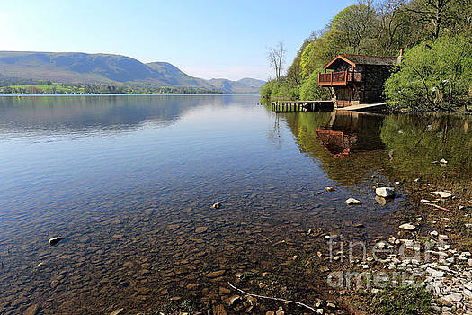 The Duke of Portland boathouse on Ullswater, Lake District by Dave Porter