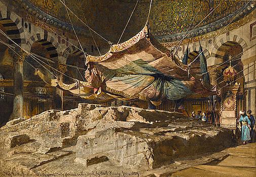Carl Haag - The Holy Rock, Jerusalem