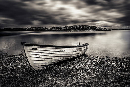The Lone Boat by Alan Campbell