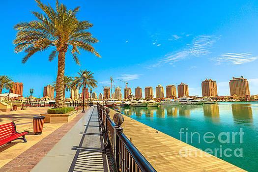 The Pearl Porto Arabia by Benny Marty