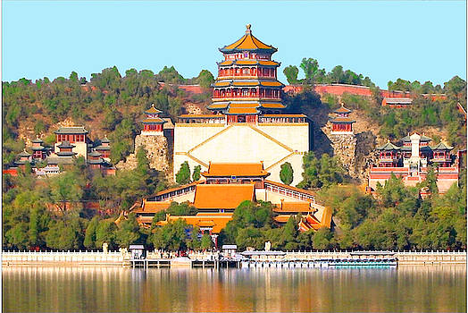 The Summer Palace in Beijing, China by Steve Clarke