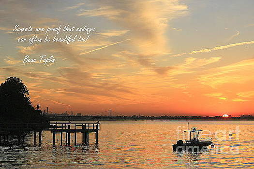 The Sunset of Early Autumn by Dora Sofia Caputo Photographic Design and Fine Art