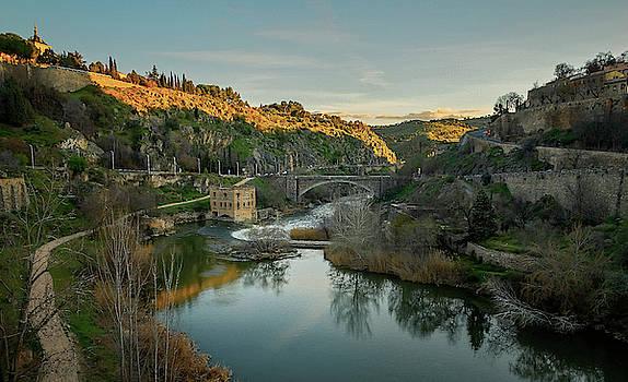 Toledo Spain Dusk II by Joan Carroll