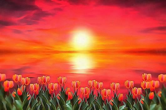 Tulips by Harry Warrick